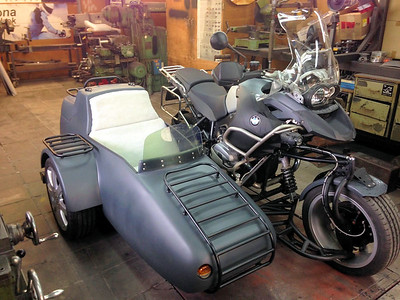 BMW R1200GS side-car / sidecar conversion
