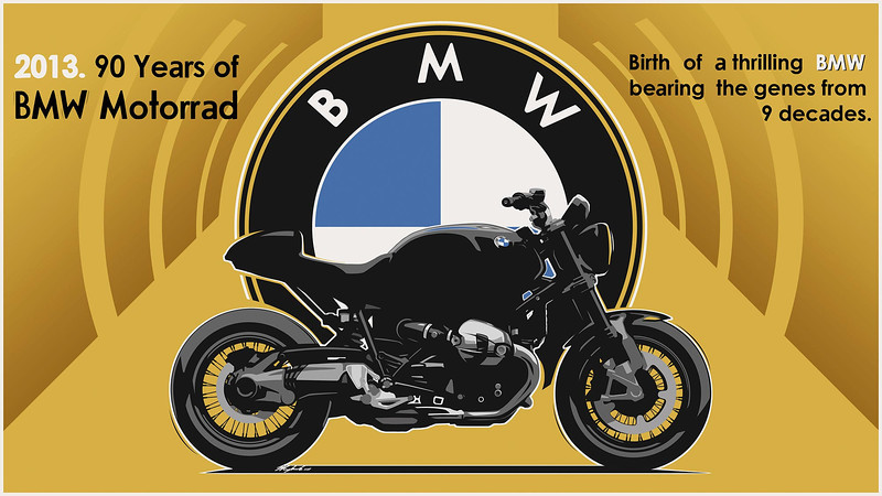 November 2012 - BMW announce that they will soon release details on an air-cooled model that would commemorate the 90th Anniversary of BMW Motorrad.