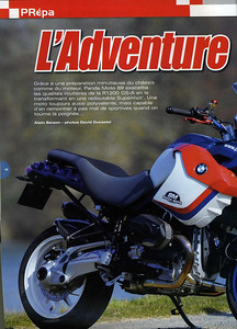 Article June 2009: R1200GS-A Supremot featuring the Panda Moto 89 BMW R1200GS SuperMoto (SuperMotard)   http://www.pandamoto.fr