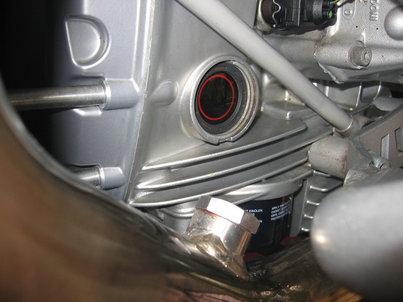 "O2 sensor hole in the exhaust 'capped off'<br /> See here for R1200GS PCIII installation instructions: <br />  <a href=""http://www.motorcycleinfo.co.uk/index.cfm?fa=contentGeneric.sfjsxqzbkjrcgwel&pageId=425926"">http://www.motorcycleinfo.co.uk/index.cfm?fa=contentGeneric.sfjsxqzbkjrcgwel&pageId=425926</a>"