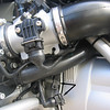 CARE - I tucked the connection from the PCIII to the original TPS sensor connector up behind the rubber pipe you can see in the photo. Today I discovered that the source of the chronic misfire, no tickover / idle, really rough running was ingress of water to the connection (due to its orientation behind the rubber pipe) after washing the bike.