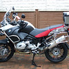 BOS R1200GS exhaust