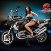 "More R1200GS girl / glamour model from:<br />  <a href=""http://www.scigacz.pl"">http://www.scigacz.pl</a>"