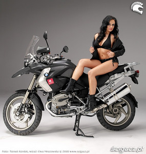 More 2008 R1200GS girl / glamour model from: www.scigacz.pl