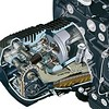 BMW HP2 engine cylinder cutaway drawing