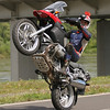 "R1200Gs wheelie - Ever wonder what the underside of the R1200GS looks like? From the Polish motorcycle website:  <a href=""http://www.scigacz.pl"">http://www.scigacz.pl</a> website"