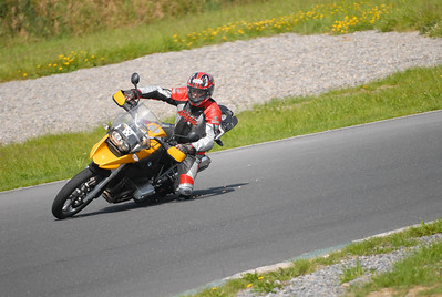 "And another shot of Patrick getting his knee down on the 1200GS - ""If I can get some supermoto wheels I will get the head down"" By Patrick (Galway, Ireland)"