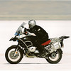 Not a tract day or a stunt.....but plenty of thrills all the same I'm sure: Gary at Bonneville Salt Flats Oct2007 - <i>123.448 my average speed on the measured mile </i> Gary has an extensive collection of photos of his travels here:  http://gary5410.smugmug.com/Motorcycles