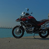 """Tom's R1200GSA - photo taken in Holland with the sea defences in the background.<br /> 'Tomini'  <a href=""""http://forum.bmw-mc-vl.be"""">http://forum.bmw-mc-vl.be</a>"""