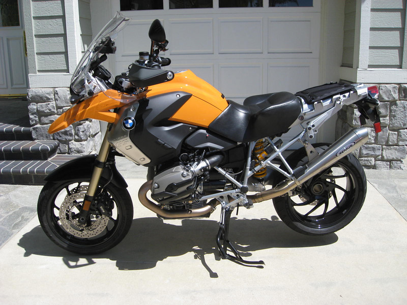 Marc Parnes' modified 2008 R1200GS