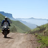 More beautiful R1200GS African Scenery by Gillian Hine.... <i>After a rest day it was time to tackle the famous Sani Pass. Famous for the incredible vistas...</i> GS Adventures motorcycle tours's - http://www.facebook.com/GSbike