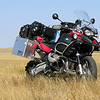 "Photo by Scott Shelerud ( <a href=""http://www.knifeisland.com"">http://www.knifeisland.com</a>) of his 2008 R1200GS Adventure somewhere in Wyoming USofA"