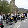 Photo by ukGSer 'stumpy' - stop off riding though the High Sierras of Spain on the way to Morocco as part of an organised tour with Wildcat Adventure in Oct 08