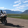 """On the """"haul road"""" about 150 miles above the Arctic Circle on the tundra:<br /> Gary has an extensive collection of photos of his travels here:<br />  <a href=""""http://gary5410.smugmug.com/Motorcycles"""">http://gary5410.smugmug.com/Motorcycles</a>"""