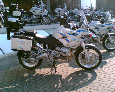 BMW R1200GS-P R1200GS, popular with the Israeli police force!