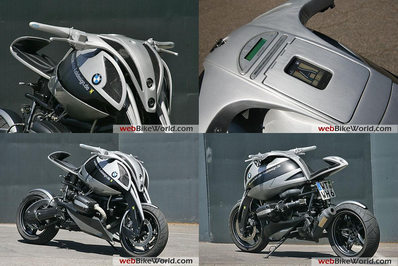 Beutler BMW Boxer based on an R1150GS (or was it an R1100GS?)
