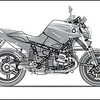 "BMW motorcycle prototype - D1200R / R1200R overlay<br /> Go to: <a href=""http://www.dechavesgarage.com/projects/"">http://www.dechavesgarage.com/projects/</a>"