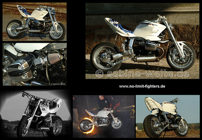 BMW R1100S Streetfigher See: www.sabine-welte.de / www.no-limit-fighters.de