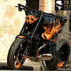 How cool (maybe not with all those flames:-) is this BMW sytreetfighter?!