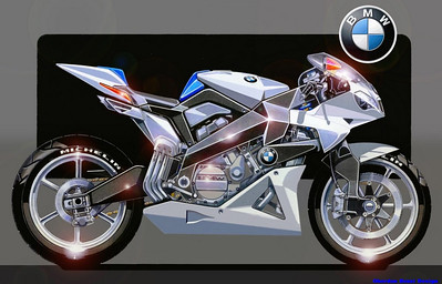BMW V6 SuperSport Concept motorcycle