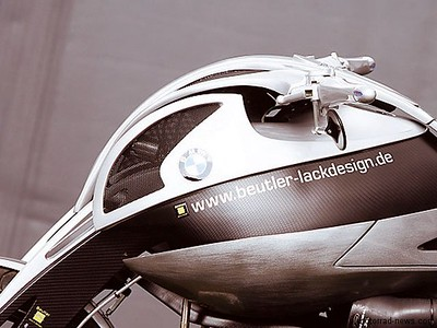 """Another BMW """"concept"""" bike from Beutler (can't find any info on this one http://www.beutler-lackdesign.de/"""