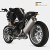 "BMW motorcycle prototype - D1200R based on a BMW R1200R<br /> Go to: <a href=""http://www.dechavesgarage.com/projects/"">http://www.dechavesgarage.com/projects/</a>"