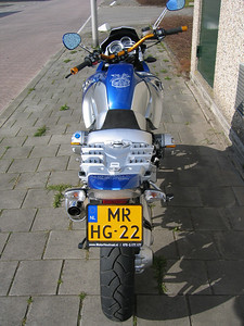 Dutch BMW R1200GS with Wunderlich Jararaca body panels and other parts - custom paint by MotoPaint (Ridderkirk near Rotterdam) http://www.motopaint.nl/