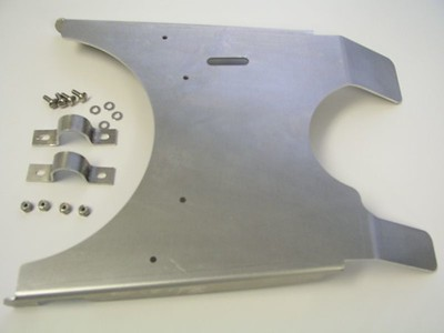 R12GS SkidPlate parts and pieces.