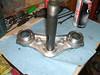 fork brace ready for bearing