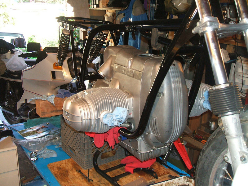 chest cover, starter cover, airbox added