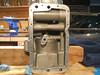motor crankcase inside clean