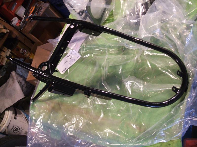 sub frame freshly powder coated