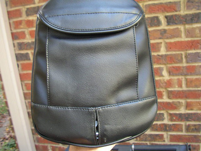Pouch on the back of the sissy bar