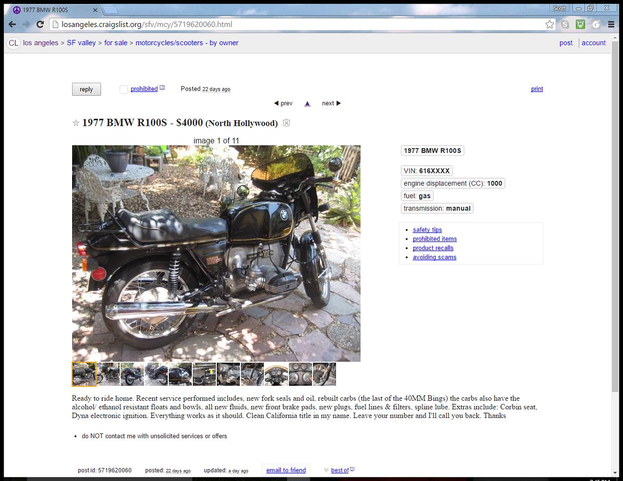 Craigslist | Page 2 | Adventure Rider