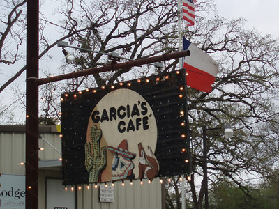 March 9, 2009 Garcia's Cafe, Bedias, Texas