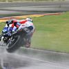 Ben Spies in the wet. 2007 AMA Road America round.