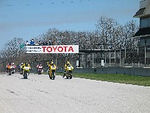 CCS Racing at Road America in April of 2003