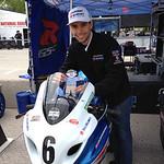 Chris Clark - Flat Stanley - Yoshimura Suzuki http://www.amaproracing.com/rr/riders/rider.cfm?did=3283