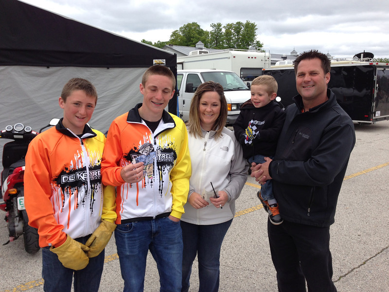 DeKeyrel Racing - Watch these kids. Quite possible the next generation or two of superbike or motogp stars in the making
