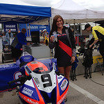 Meen Motorsports Umbrella Girl