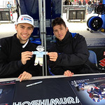 Chris Clark and Martin Cardenas with Flat Stanley
