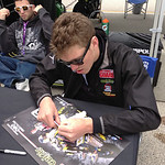 Corey Alexander - signing flat stanley http://www.amaproracing.com/rr/riders/rider.cfm?did=4280