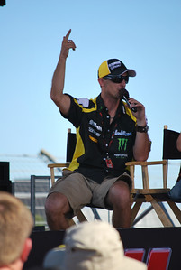 Colin Edwards being interviewed