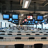 The top floor media centre at the Indianapolis Motor Speedway