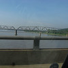 The Mississippi river, east of St Louis