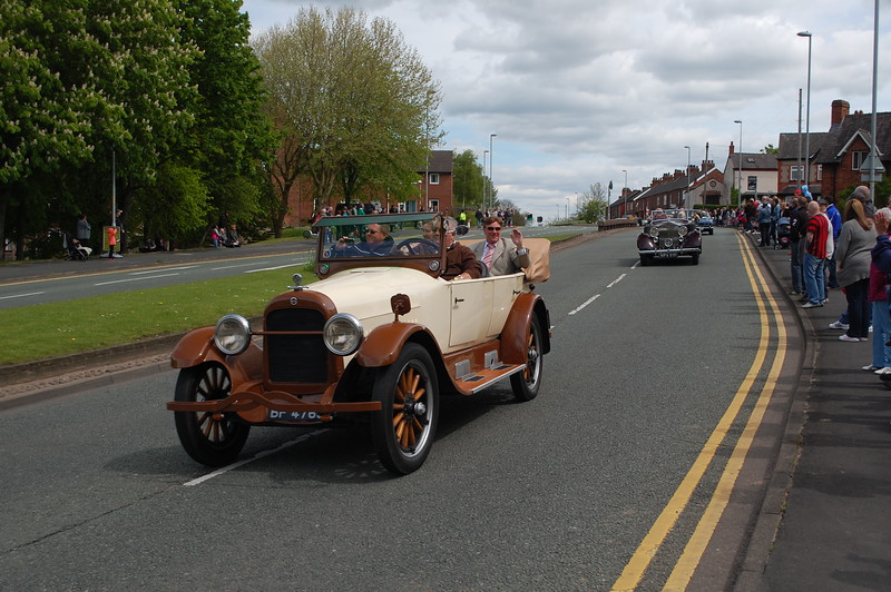 The Mayors car Northwich Thundersprint 2012