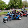 Trike towing trailer Northwich Thundersprint 2012