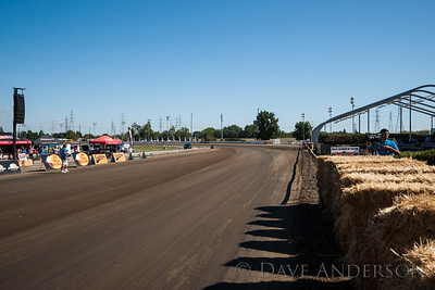 A view into turn 1 -- at 0mph. I'm sure it looks a lot different at 120mph+.
