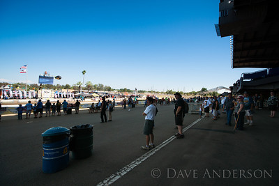 I had a seat in the grandstands immediately above where I was standing for this shot. Waiting for open paddock.