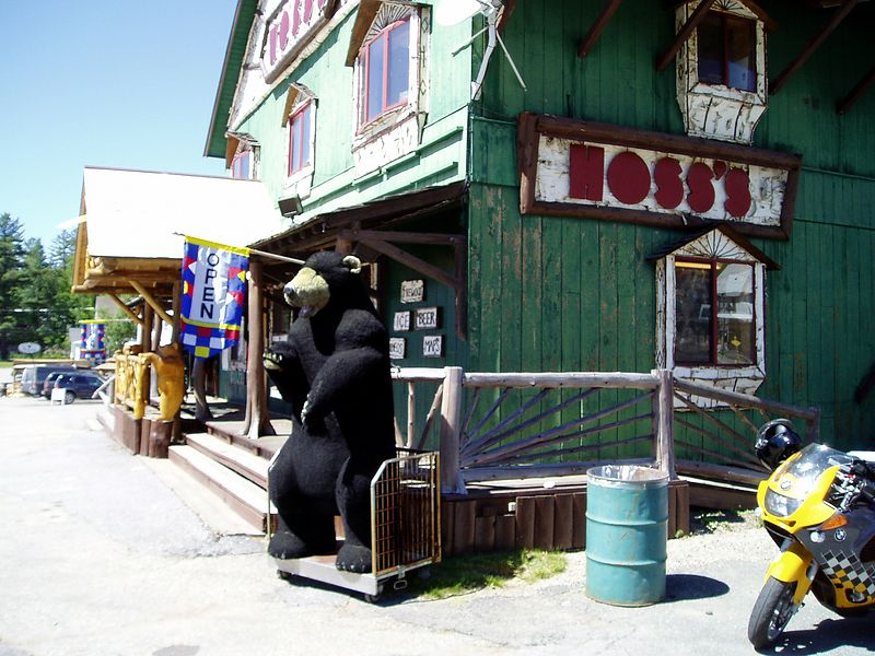 Hoss's General Store in the Adirondacks.